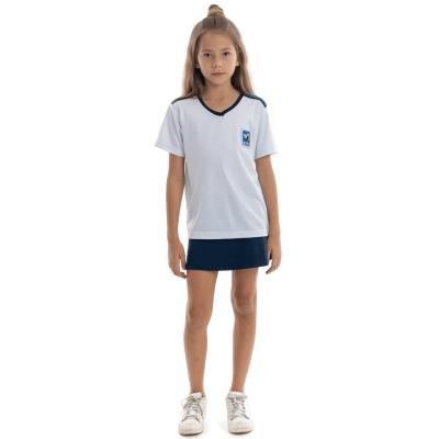 Camiseta Uso Diario Branca Unissex