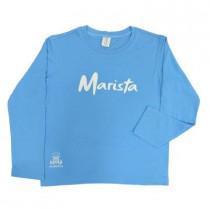 Camiseta Ml Pv Celeste Uniss Ed Infantil