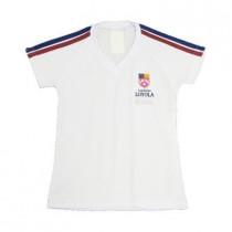 Camiseta Pv Baby Look Raglan