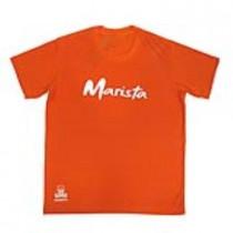 Camiseta Pv Manga Curta Laranja