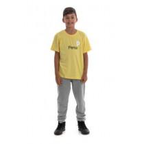 Camiseta Amarela Algodao