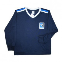 Camiseta Manga Longa Azul Unissex