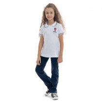 Camiseta Polo Piquet Baby Look